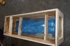 Crate with VCI Wrapping
