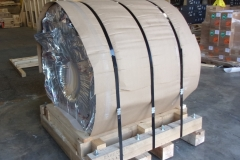 Skid with Vapor Barrier Packing
