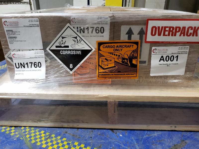оверпак для опасных грузов