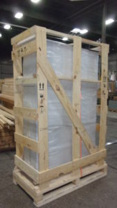 Skeleton Crate with Plastic Wrap - Server Rack