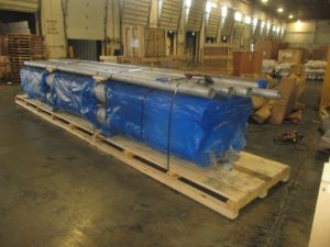 Export Skid with VCI Packaging - Steel Pipes