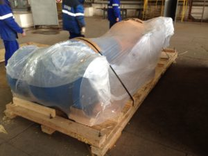 Export Skid with Vacuum Packing - Pumps
